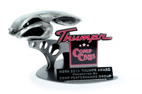 COMP Cams® Introduces 2015 NSRA Thumpr™ Award – Up For Grabs At Every NSRA Show!