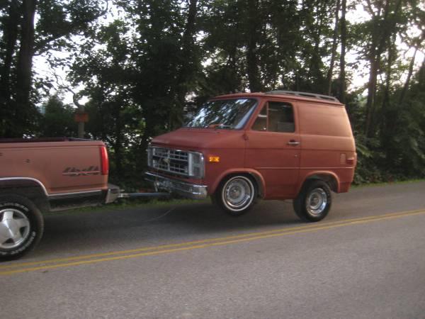 Bangshift Com 1986 Chevy Van Trailer