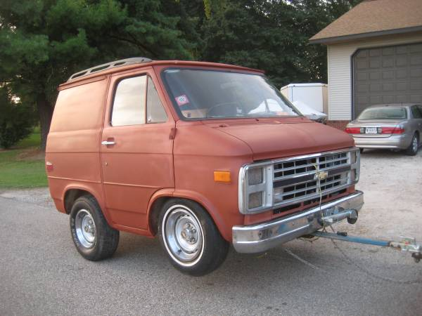 Bangshift Com 1986 Chevy Van Trailer