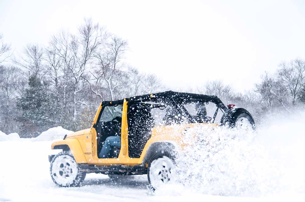 Best Of BangShift 2015: What To Do With A 2015 Jeep Wrangler Unlimited Sahara During The Winter From Hell