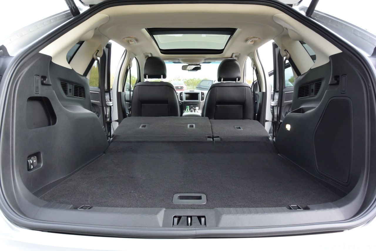 Interior Space In The Edge  Ford Expedition Rear Interior Cargo Space_o