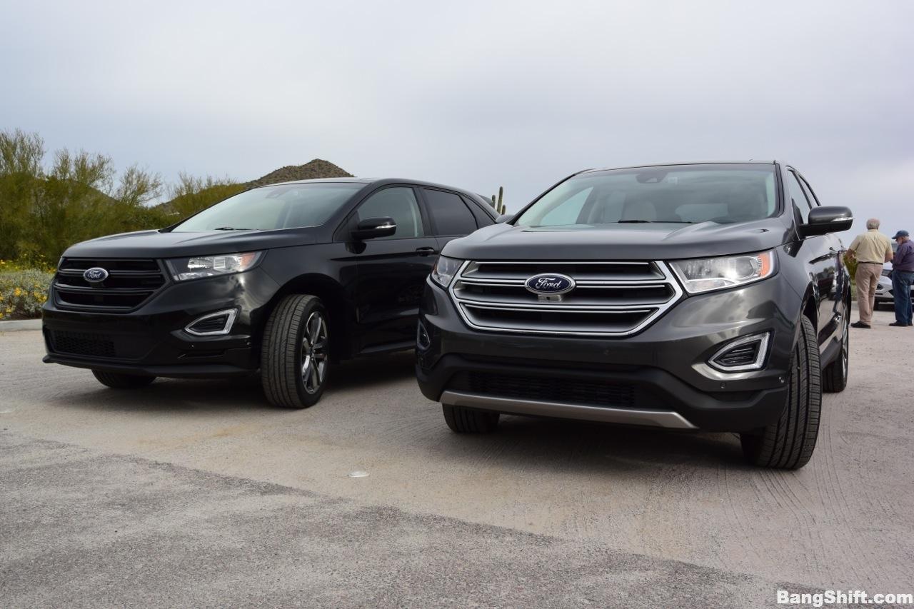 Image Result For Ford Edge Vs Hyundai Santa Fe