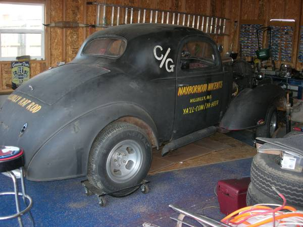 BangShift com Craigslist Find: All-Steel 1936 Chevy With Parts To