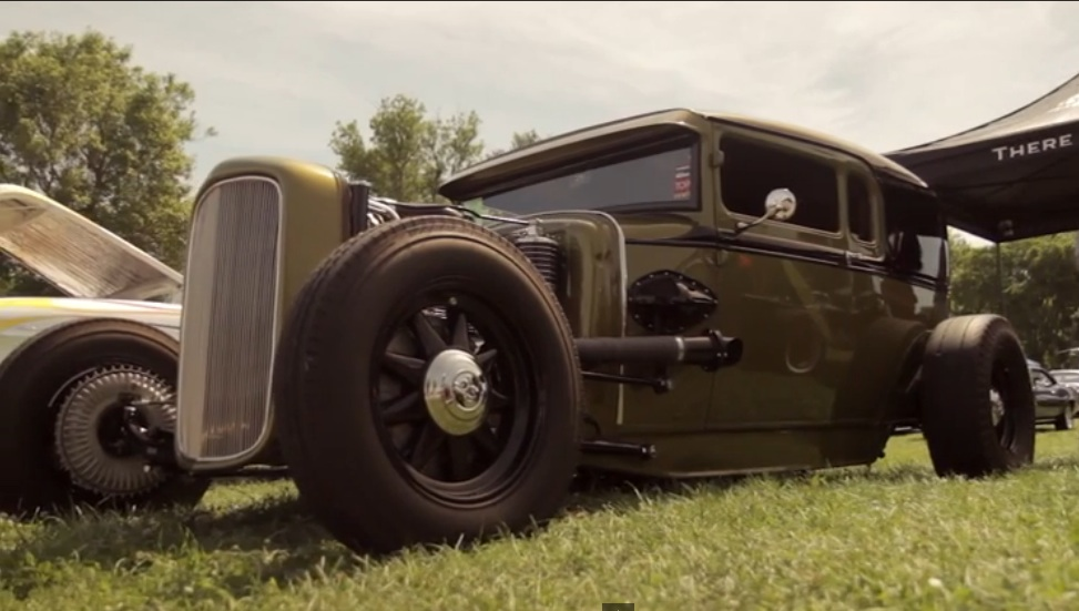 """This Profile Of A Unique, Supercharged, Model A Coupe """"De Livery"""" Is Well Worth The Watch – Neat Car!"""
