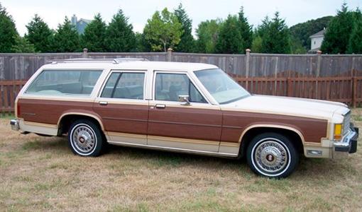 ford wagon