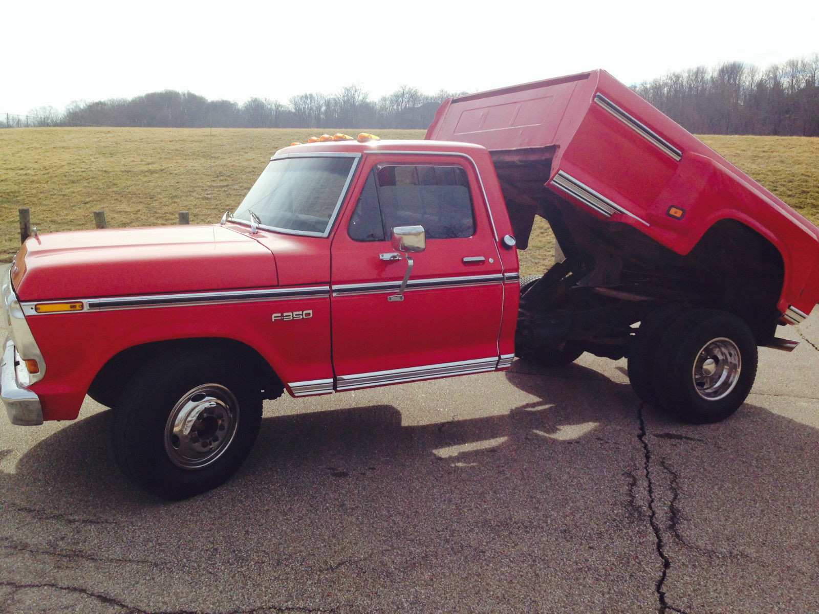 this ford f350 dually has a dump bed and combines utility with old - The Dump Mattress Sale