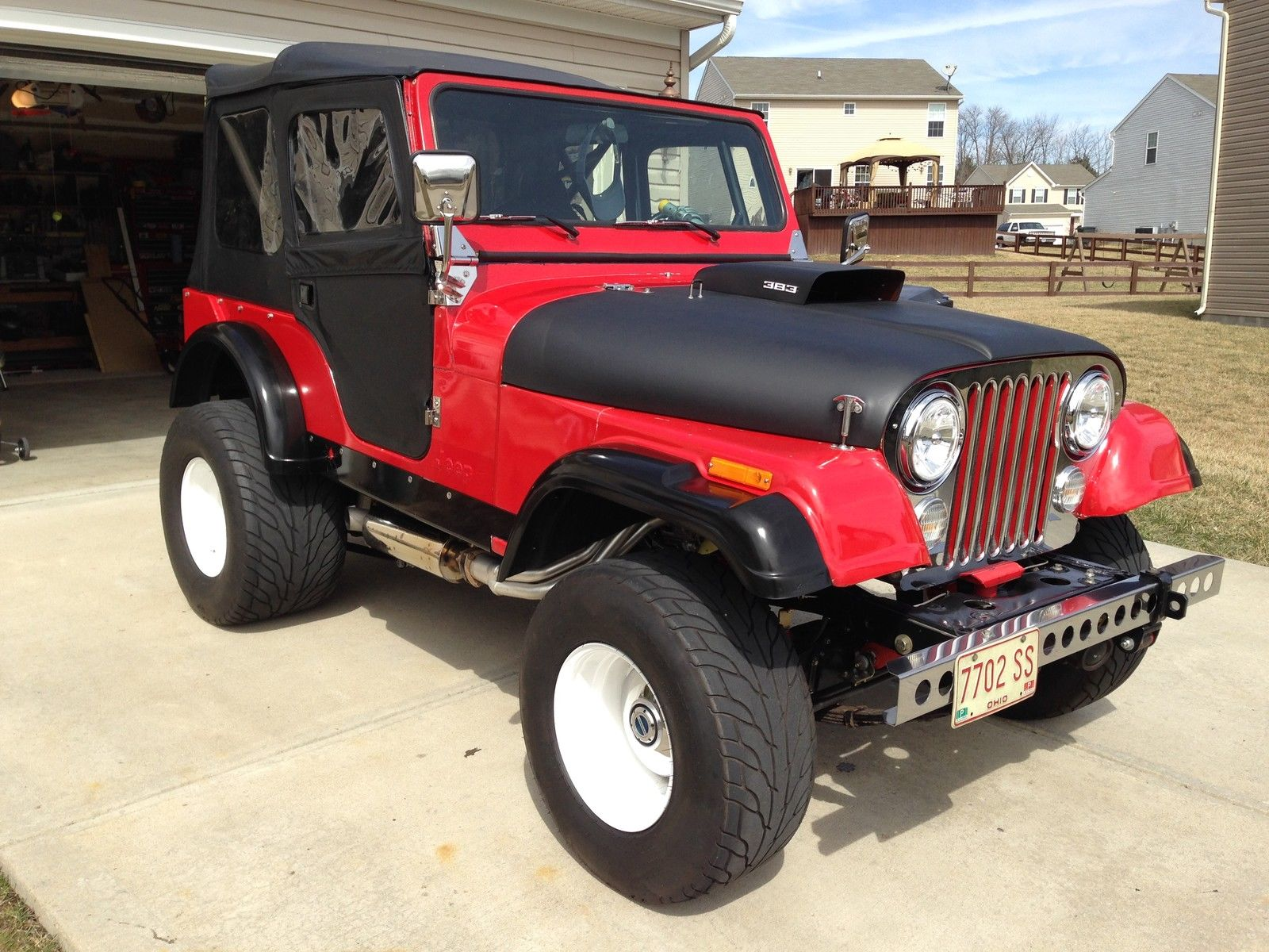 Jeeps On Ebay BangShift.com 1976 Jeep CJ7