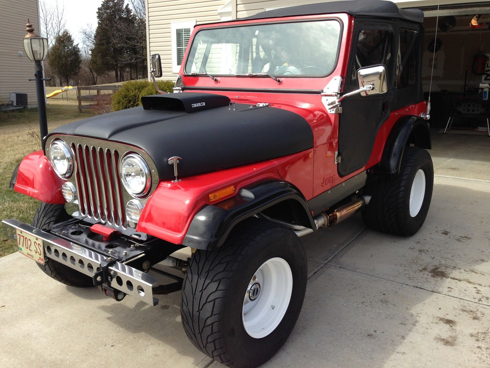 Bangshift Com 1976 Jeep Cj7
