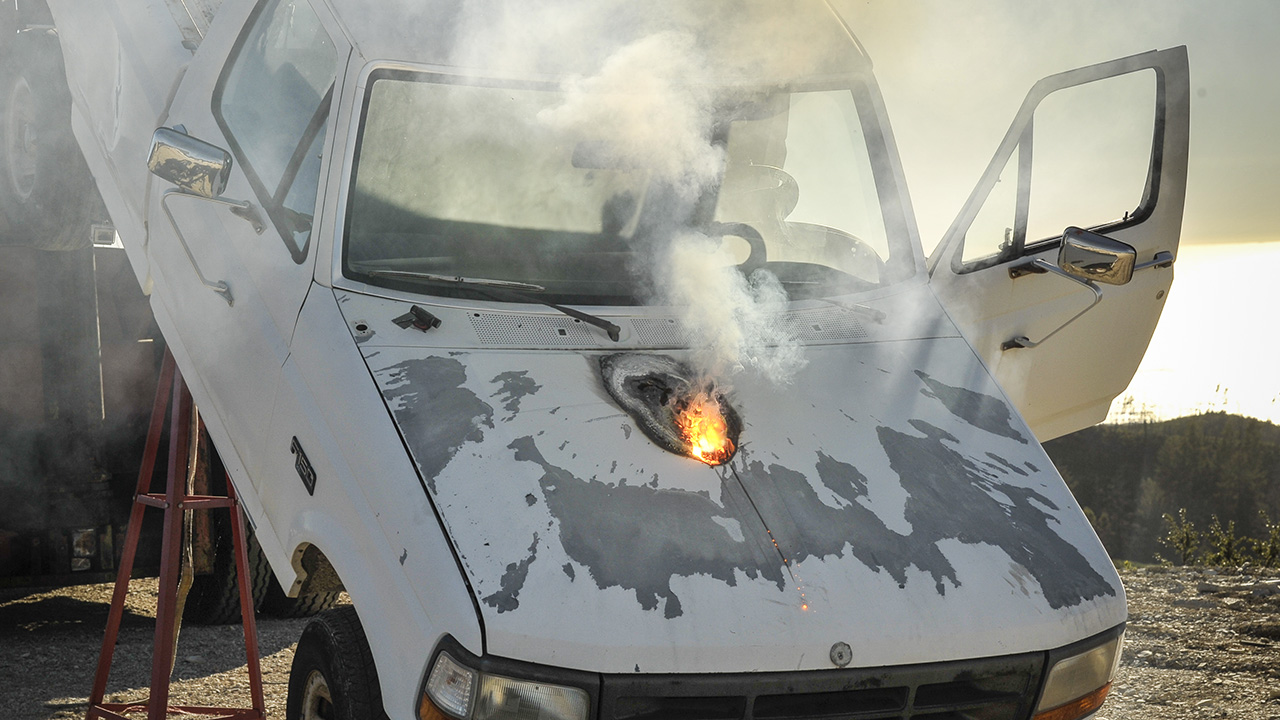 Best of BangShift: Lockheed Martin Invents Laser Gun That Can Melt A Truck Engine In Seconds – The Future Gets Creepier