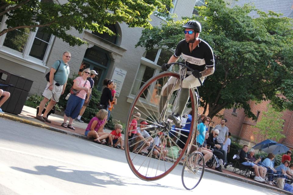 Frederick, Maryland Is The Home Of The Only High Wheeler Bicycle Race In America And It Looks Pretty Awesome