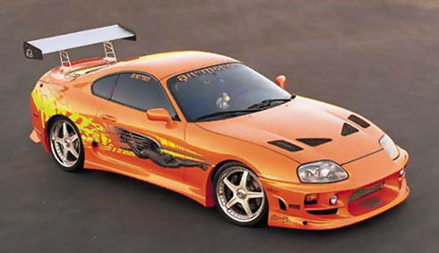 BangShift.com Cue The Hate Mail: The Orange Supra From ...