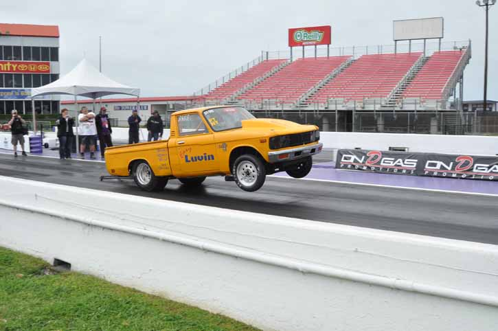 Houston Performance Truck Shootout: More Tire Roasting, Front End Lifting Action From The Strip!