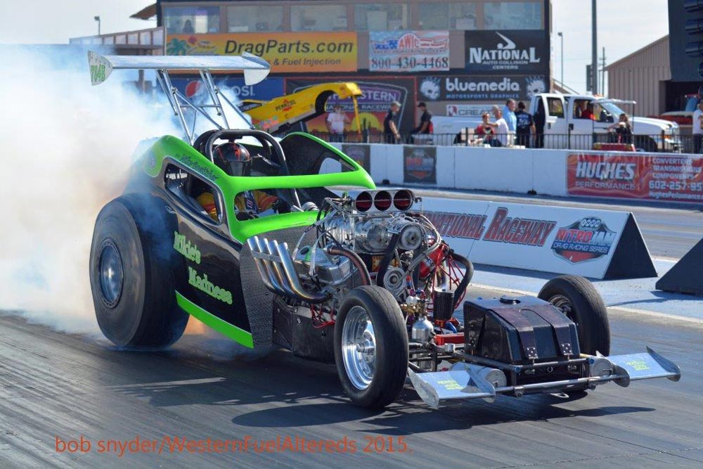 Holman's Chevy Fuel Altered Takes WFA Win at SIR
