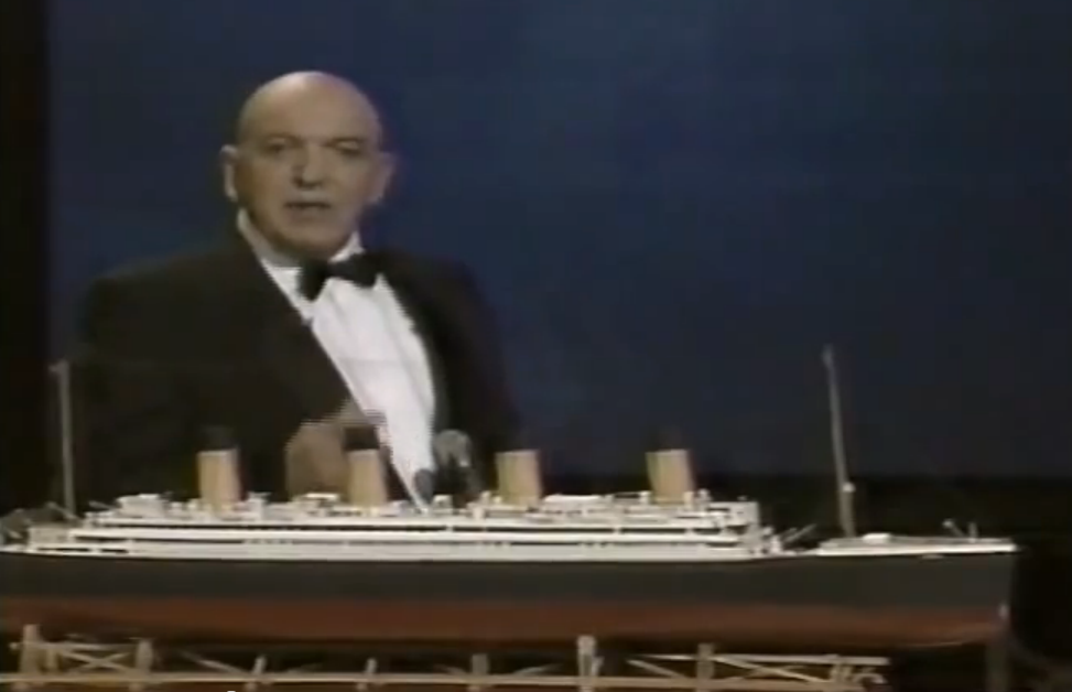 105 Years Ago This Weekend The Titanic Sunk – 30 Years Ago There Was A Terrible TV Special Made About It, Remember?