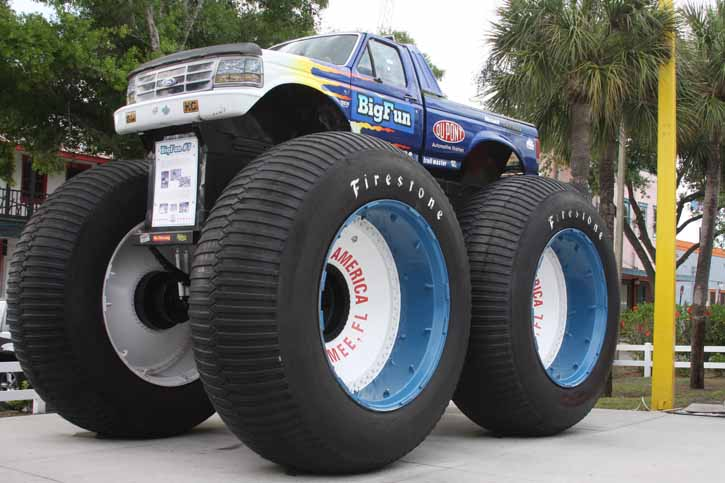 Wandering Colossus: This Former Big Foot Truck Went From Major Movie Stardom To The Corner Of A Florida Midway- How?