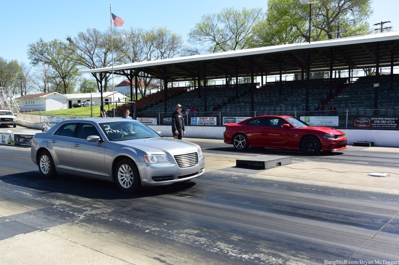 Caption This: A V6-powered Chrysler Against A Charger Hellcat? How Is That A Fair Fight?