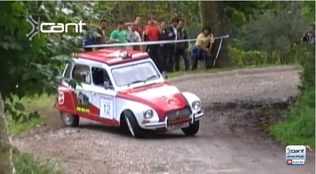 If You Aren't Smiling After Watching These Citröen Dyanes Rally, Then You Are Probably Seasick From Watching The Suspension Work!