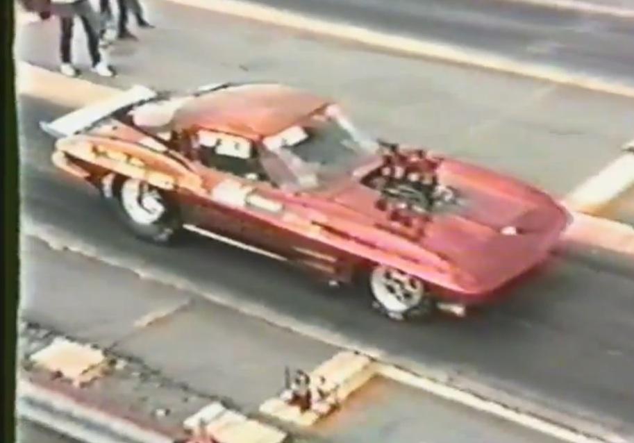 "Watch Ken ""The Carolina Hooker"" Regenthal Make A Lane Swapping Run At Shuffletown Dragway Circa 1989"