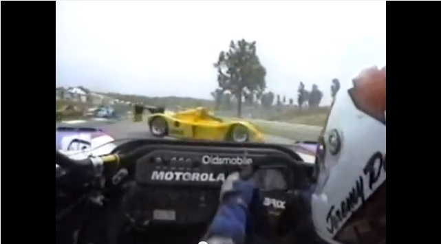 Historical Footage: The Infamous 1995 Dale/Barbazza Wreck At Road Atlanta