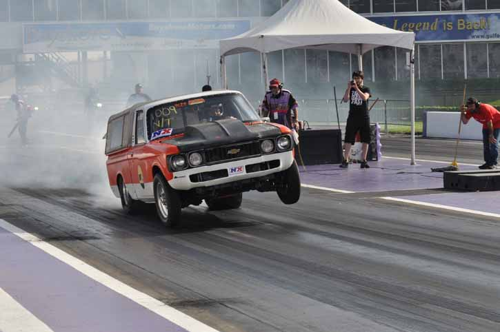 Truckin' Photos: More Tire Smoking, Wheels Up Action From The Houston Performance Truck Shootout