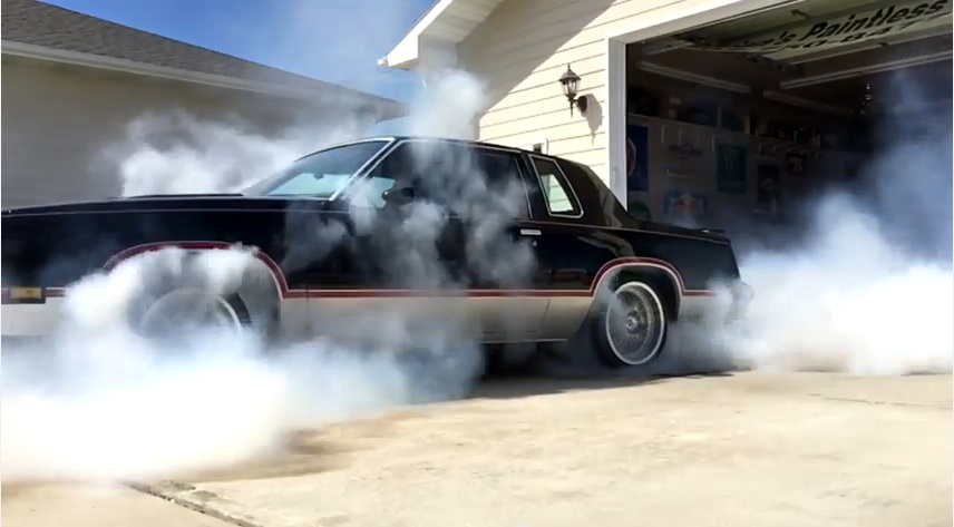 Insane: Watch The ProCharged, Lingenfelter Powered AWD Hurst/Olds Destroy All Four Tires At ONCE!