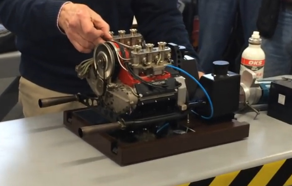 Watch This Scale Porsche Flat Six Fire Up And Make Really Wild Noises!
