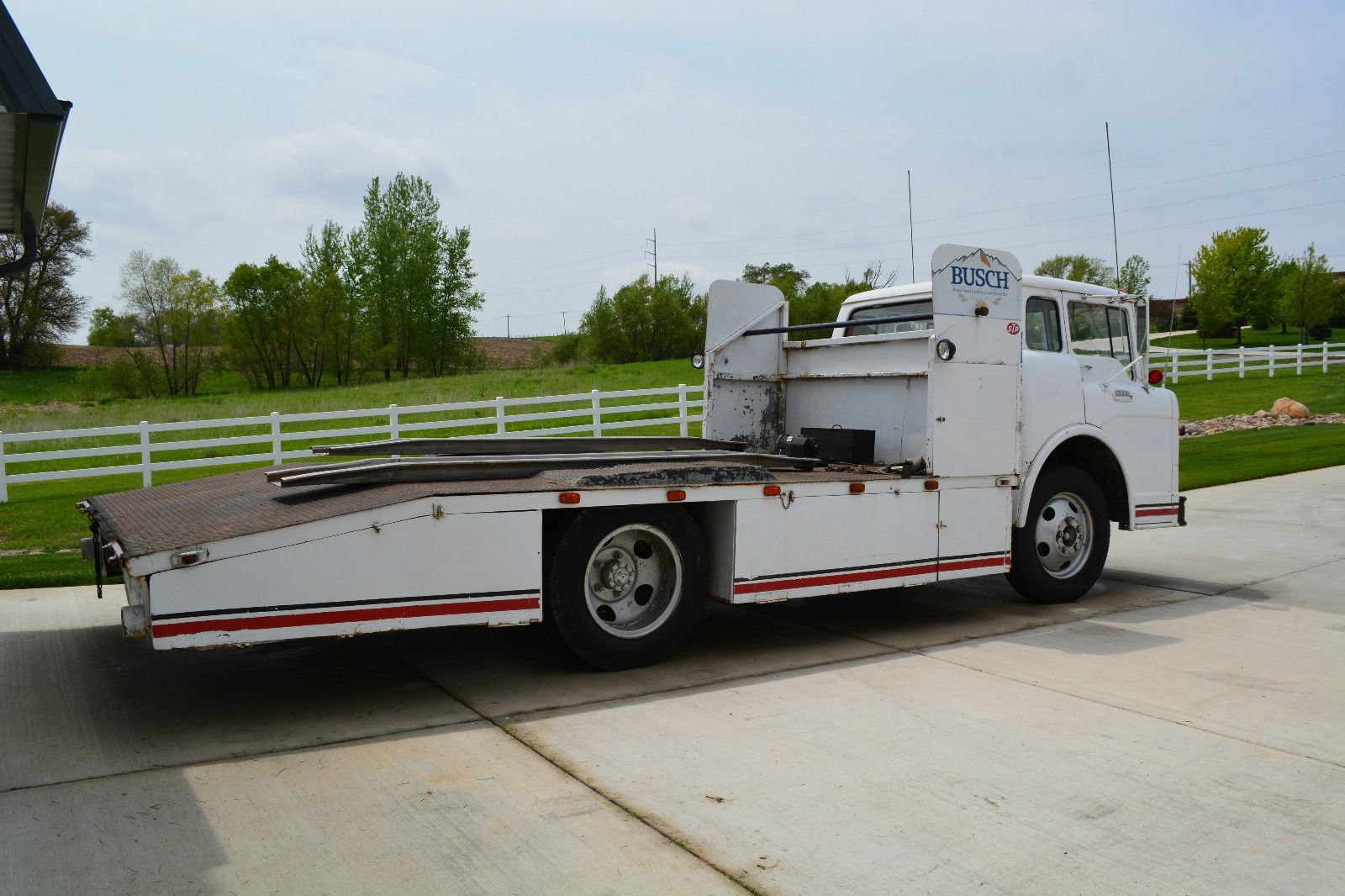 Ramp Truck Race Car Hauler