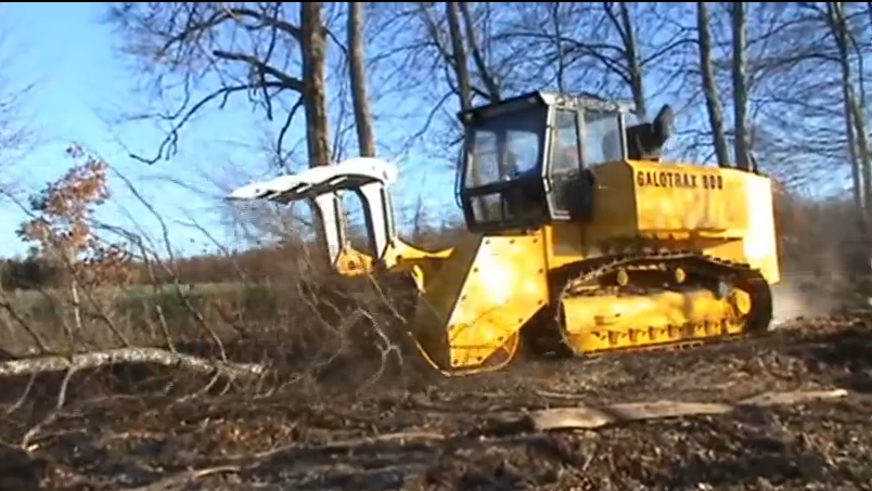Hate Trees? The Galotrax 800 Heavy Forestry Mulcher Is Just What Your Appetite For Destruction Ordered