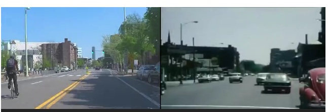 Time Capsule! This Incredible Video Split Screens A Drive Through Boston In 1963 And The Same Route In 2015