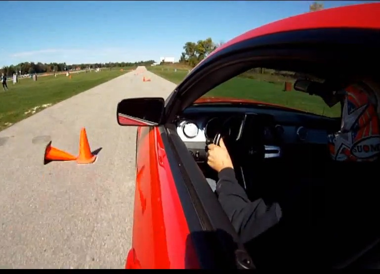 Watch A Guy With One Arm Dominate An Autocross Course WHILE Shifting Gears