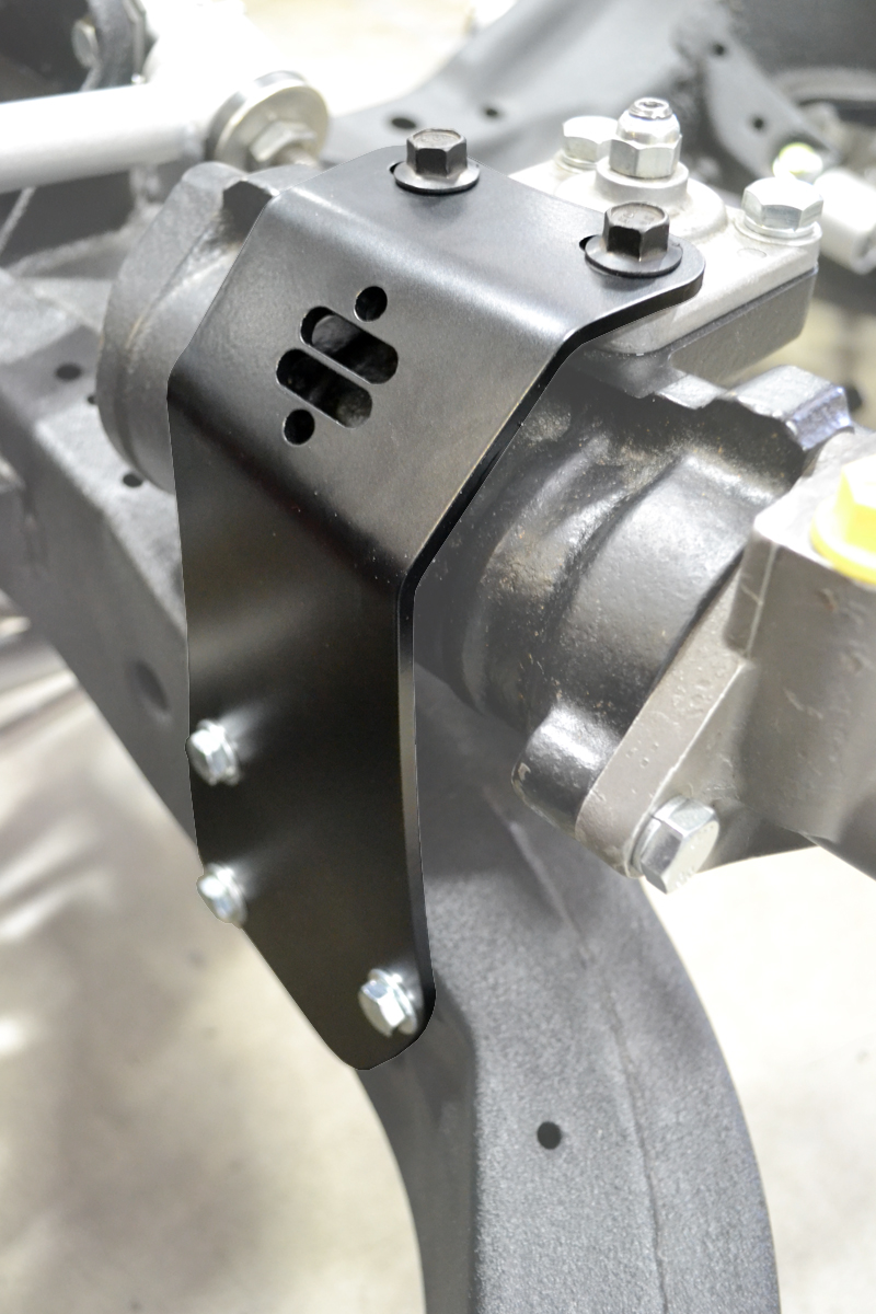 New Product! RideTech Introduces Corvette C2/C3 Steering Box Reinforcement – Big Tires? Big Strain? No Problem!