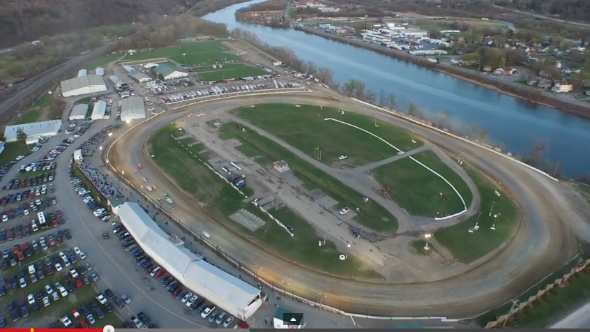 This Drone Shot Video Of New York's Historic Fonda Speedway Is Really Awesome