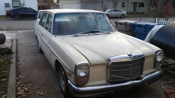 BangShift com 1970 Mercedes