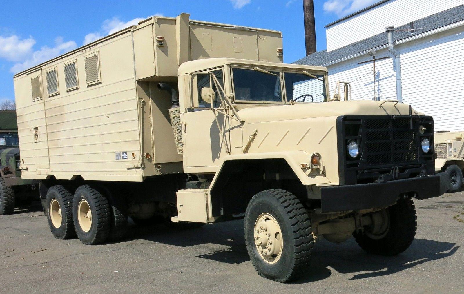 BangShift.com This 1980 AM General M934 Expansible Van Is ...