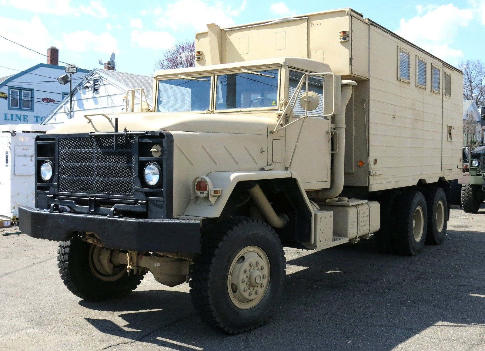 Bangshiftcom This 1980 Am General M934 Expansible Van Is What You