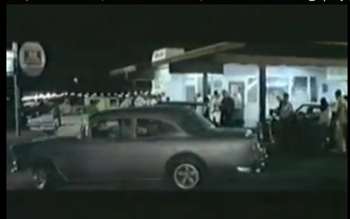 """The Famous """"We'll Have An Automobile Race"""" Scene From Two Lane Blacktop"""