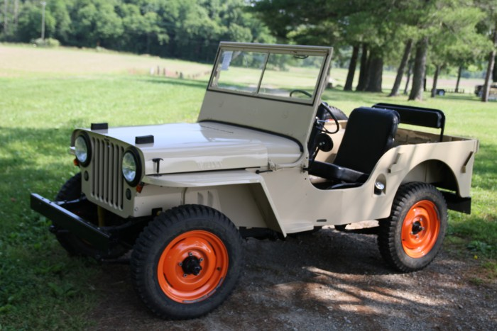 With Only 60 Horsepower, Why Is This Flat Fender Willys CJ2A So Damn Cool?
