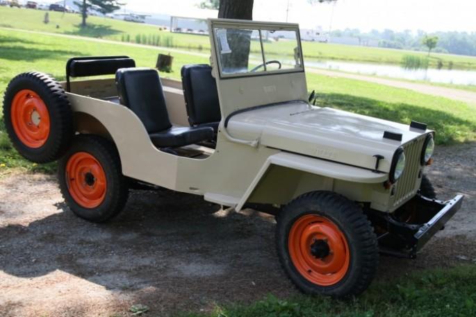 1946 Willys CJ2A 1