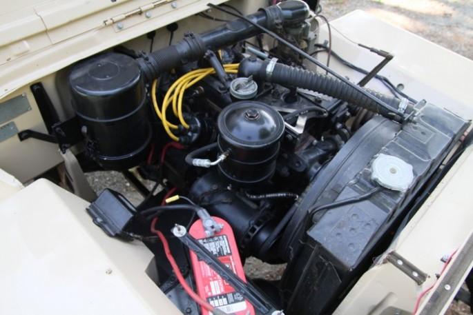 1946 Willys CJ2A 2