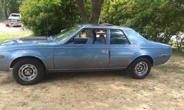 Rough Start If You Can Find A Cleaner AMC Concord For 2500 Buy It