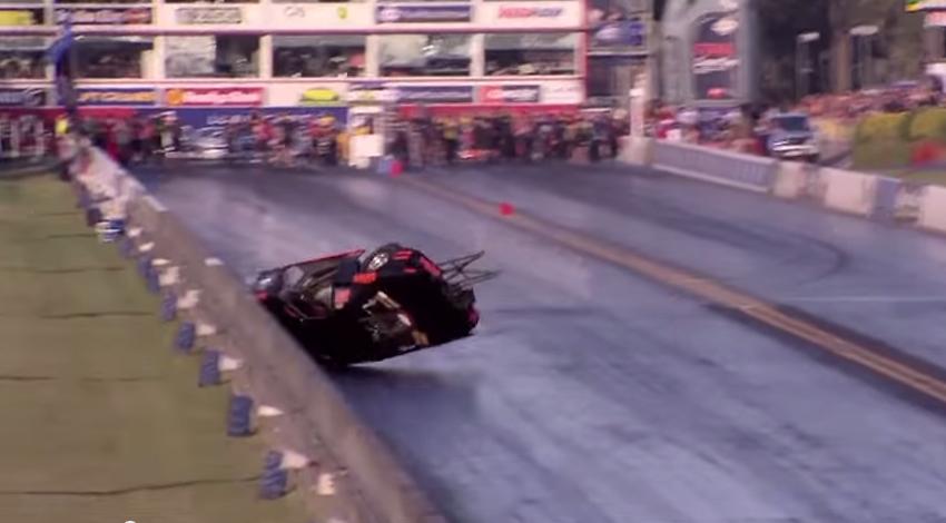 Australian Racer Ben Bray Returns To The Strip After Horrific Crash One Year Ago