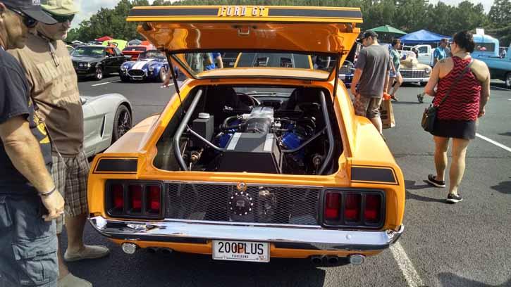 BangShiftcom MidEngined 1970 Mustang