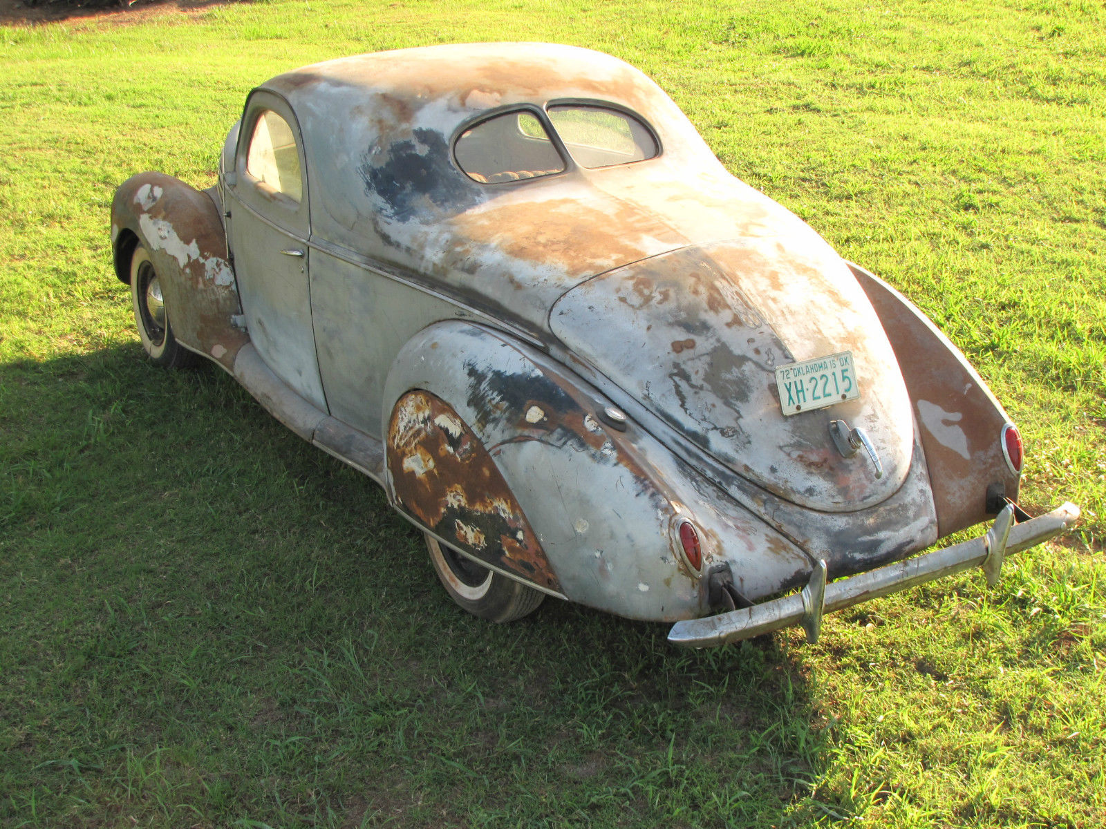 BangShift.com Ebay Find: This Dusty 1939 Lincoln-Zephyr Is On That ...