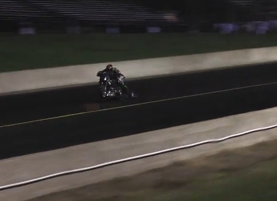 "Crazy Video: Watch Larry ""Drums"" Brancaccio's Horrifying Nitro Harley Crash From IHRA Cordova"