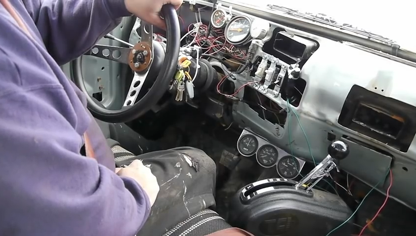 This BangShift Approved Solution To Shifting A 4L80E Transmission Utilizes Light Switches, Miles Of Wire, And A Cell Phone