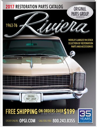 Got A 1963-1976 Buick Riviera? OPGI Has Your Restoration Needs Covered AND A Free Catalog For You