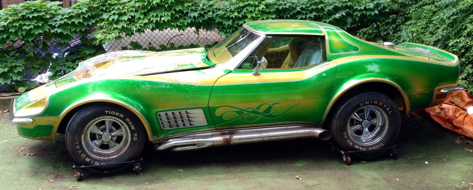 Former ISCA Corvette Unearthed: Baldwin-Motion Nose, Dual Quad Big Block, Wild Interior, Wow