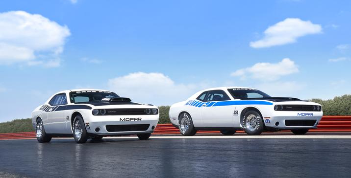 Mopar Unveils New Drag Pack Challengers – Blown And Naturally Aspirated Combos Available – Look Out Ford And GM!