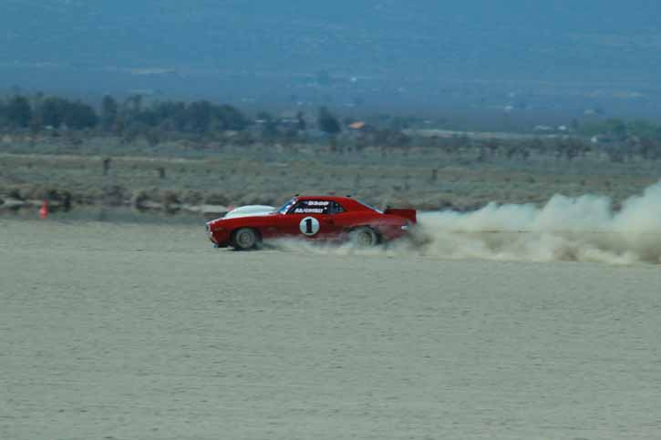 Land Speed Coverage: SCTA Action At El Mirage Dry Lake Bed