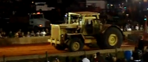 Torque Video: A V12 Detroit Powered Euclid Bottom Dump Tractor Claws to a Full Pull